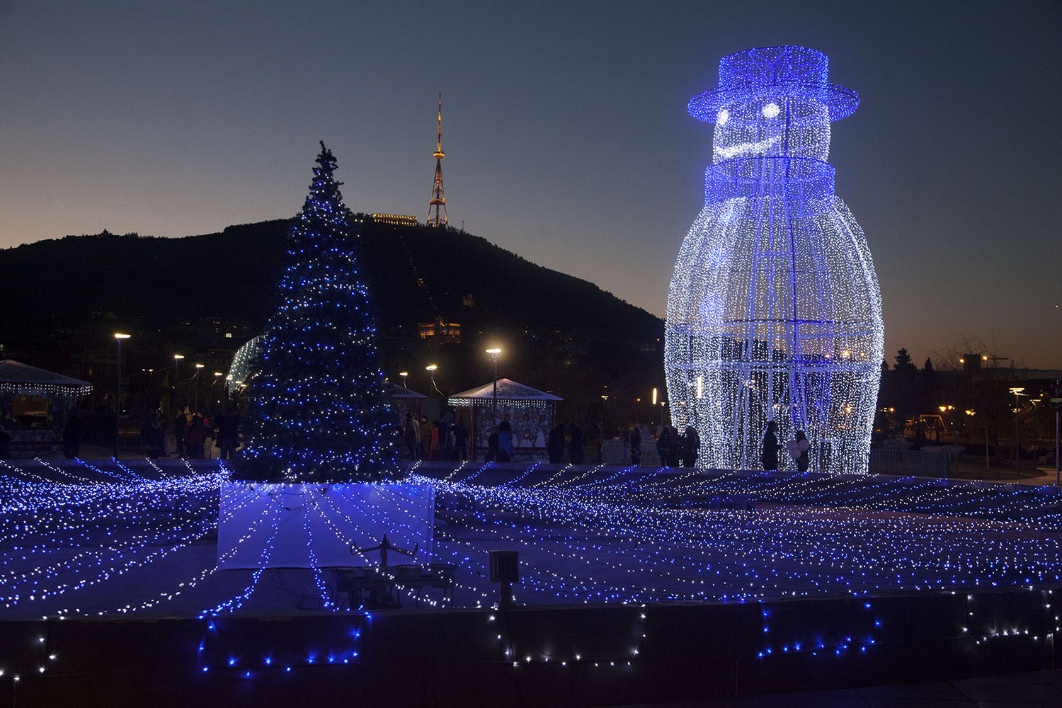 Christmas In Georgia Tbilisi.New Year Celebrations In Georgia 1895 2015 Agenda Ge